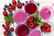 foods and drinks with smoothies